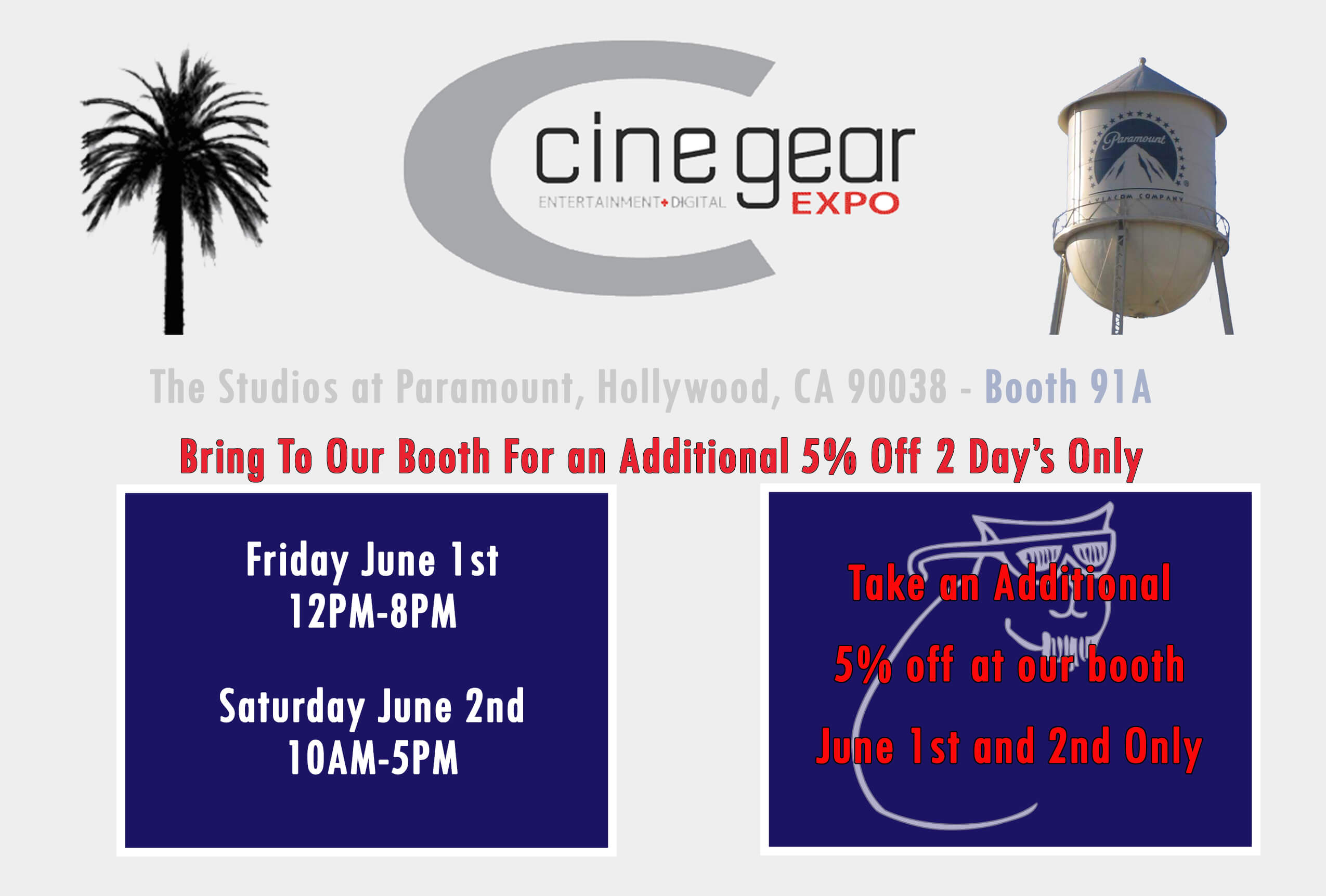 Cinegear Coupon